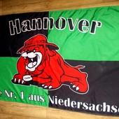Флаг Hannover Niedersachsen 150х86см