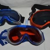 Маска очки лыжные универсальные