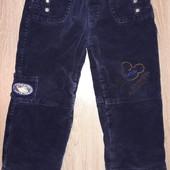Теплые штаны на флисе 2-3 года.