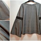 Новинка шикарная блуза кофта с красивым рукавом