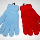 Перчатки женские, ангоровые, 2 цвета