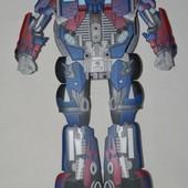 упаковка с дисками робот - трансформер Hasbro Transformers Лидер Powermaster Optimus Prime