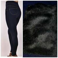 Лосины под джинс / джегинсы на меху !супер качественные  3 размера 42-46, 46-50, 50-52 2 цв  фото №1