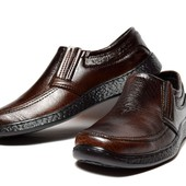 Туфли/Мокасины мужские - коричневые (АН-40)