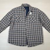 Мужская рубашка на синтепоне размер XXL 14-28 Ю