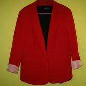 Стильный пиджак жакет 20 р-р (54) Atmosphere красный, в отличном состоянии, отличное качество. Длн -