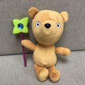 Peppa pig свинка Пеппа Мишка Тедди Teddy + волшебная палочка в подарок