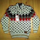 Детский свитер для мальчика рр. 128-176 Beebaby (Бибеби)