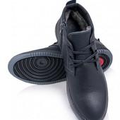 Ботинки Натуральная Кожа,40-45, 6236-28,9