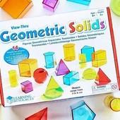 Геометрический набор Geometric solids Learning resources набор фигур