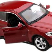 Радиоуправляемый автомобиль железный Mz Bmv X6 1:24 арт25019A