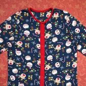 10-11 лет Хлопковый человечек-пижама Tu, б/у.