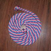 Скакалка Sasaki трехцветная конопля 1, 87см
