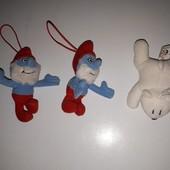 Мягкие игрушки-подвески