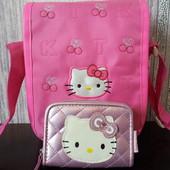 Сумка+кошелек бренда Hello Kitty. Оригинал.