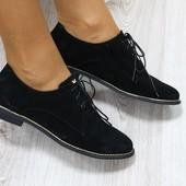 Туфли на шнурках, р. 38,40, код ks-2688