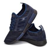 Мужские кроссовки Украина - синие (301-nvy)