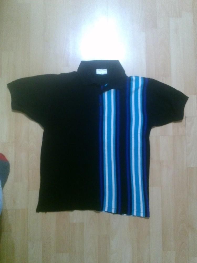 Фирменная футболка поло тениска m-l фото №1
