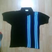 Фирменная футболка поло тениска M-L