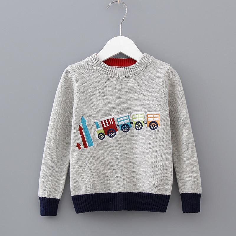 Светр для хлопчика поїзд р.90-120 свитер фото №1