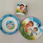 """Детская посуда из керамики """"Даша следопыт"""""""