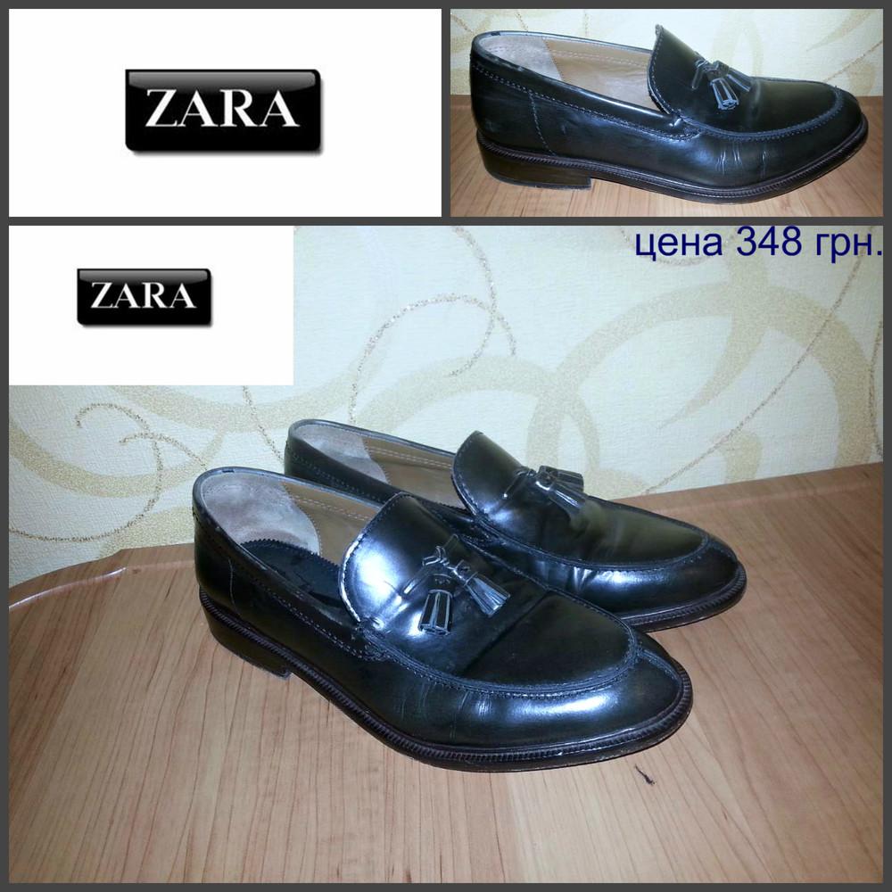 Zara, оригинал, кожа фото №1