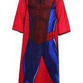 Новинка Плед с рукавами Спайдермен Человек Паук сланкет подарок мальчику