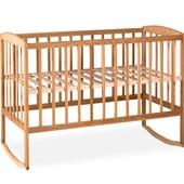 Кровать детская с дугами (1200*600)(бук)1790007