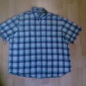 Фирменная хлопковая рубашка XXXL