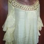 Шикарная туника блуза производство usa от дизайнера