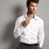 шикарная Рубашка белая Tchibo.тсм.германия.