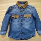 Джинсовая рубашка Rebel  1,5-2 года, 92 см