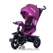 Детский Велосипед трехколесный Tilly cayman T-381 поворотное сиденье, надувные колеса