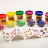 Тесто для лепки 6 баночек Master do Danko toys TMdB-01-01