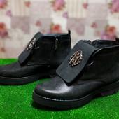 Ботинки женские кожа Polin 415