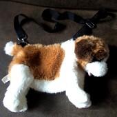 Сумка-игрушка собака размер 33х20см Европа