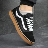 Мужские кеды Vans Old Skool black/brown