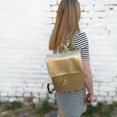Золотой рюкзак))