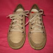 Фирменные кожаные кроссовки Rieker (оригинал) - 39 размер