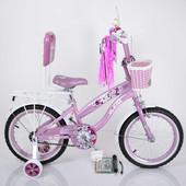 Двухколесный велосипед Rueda 16-03B