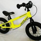 Детские беговелы велобеги BRN B-2 на 12, 14 д и на 16 д на надувных колесах