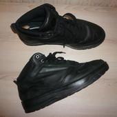 Ботинки деми утепленные Тимберленд Timberland оригинал 9,5 42-43 р 27,5 см кожа