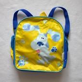 Детский рюкзачок Blue's Clues с собачкой