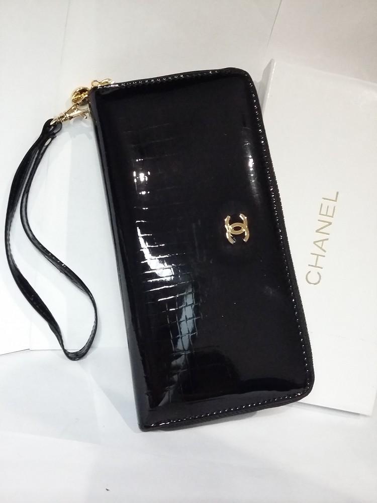 cbe348263c27 Кошелек клатч женский кожаный лаковый shanel, цена 690 грн - купить ...