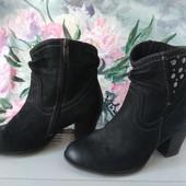 Кожаные ботинки Tamaris 23. 5см Германия