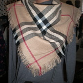 платок в стиле барбери