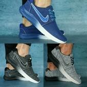 Кроссовки Nike, джинс, р. 40,45, код gavk-10630