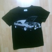 Фирменная футболка S
