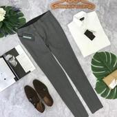 Серые брюки для мужчин Zara  PN180416