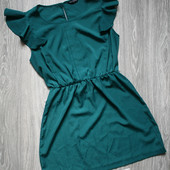 Платье с воланами р. 44-46